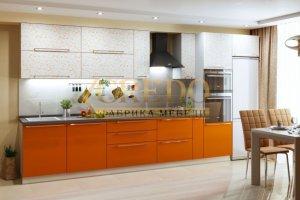Прямая кухня ПЛЕНКА ПВХ - Мебельная фабрика «Кредо», г. Ульяновск
