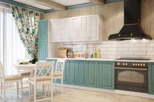 Прямая кухня Прованс - Мебельная фабрика «Фран»