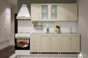 Прямая кухня ПВХ Магнолия - Мебельная фабрика «Северин»