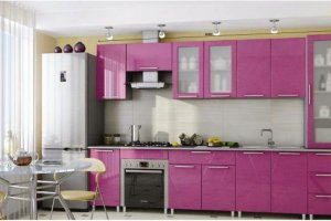 Прямая кухня Радуга 5 - Мебельная фабрика «МИГ»
