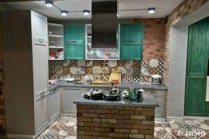 Прямая кухня с островом София - Мебельная фабрика «ОЛИМП»