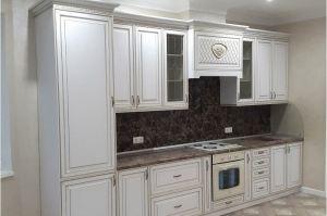 Прямая кухня с патиной - Мебельная фабрика «Прометей»