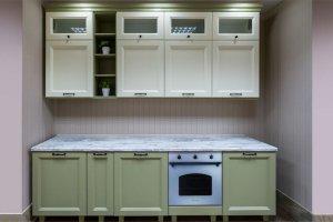 Прямая кухня Сицилия - Мебельная фабрика «Фавор»