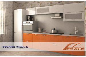 Прямая кухня стандарт СТ 3600 - Мебельная фабрика «Престиж»