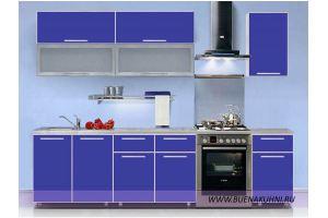Прямая кухня в алюминиевой рамке - Мебельная фабрика «Buena»