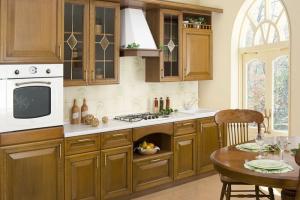 Прямая кухня в классическом стиле - Мебельная фабрика «Мебель-ОС»