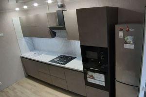 Прямая кухня в современном стиле - Мебельная фабрика «SamSam»