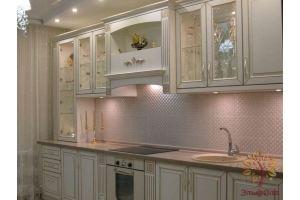 Прямая кухня в стиле Барокко - Мебельная фабрика «ЭльфОла»