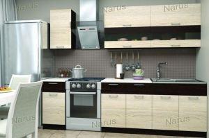 Прямая кухня в стиле Лофт 1 - Мебельная фабрика «НАРУС»