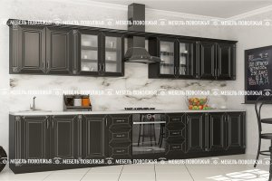 Прямая кухня Вавилон МДФ - Мебельная фабрика «Мебель Поволжья»