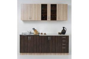 Прямая кухня Вега - Мебельная фабрика «Милан»