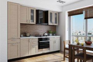 Прямая кухня Вестерн - Мебельная фабрика «СмолКорпусМебель»