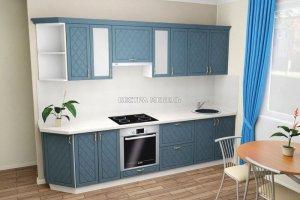 Прямая модульная кухня МДФ - Мебельная фабрика «Вестра»