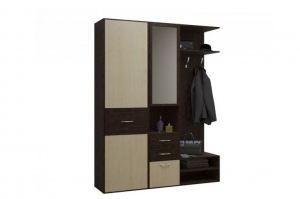 Прямая прихожая Бари 1 - Мебельная фабрика «Балтика мебель»