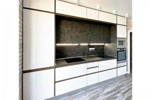 Прямая стильная кухня - Мебельная фабрика «Крафт»