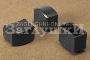 Заглушка прямоугольная наружная 25х50 мм Артикул 25-50НЧЕ - Оптовый поставщик комплектующих «Заглушки»