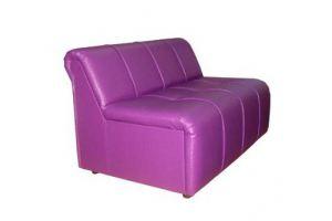 Прямой диван цвета фуксия - Мебельная фабрика «Континент-дизайн»