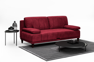 Прямой диван Dallas - Мебельная фабрика «Ангажемент»