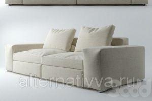 Прямой диван для дома ALDES 33 - Мебельная фабрика «Alternativa Design»