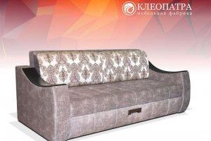 Прямой диван Доминика ТТ с ящиком - Мебельная фабрика «Клеопатра»
