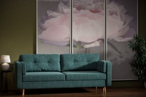 Прямой диван Джолин - Мебельная фабрика «Woodcraft»