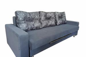 Прямой диван еврокнижка - Мебельная фабрика «Ритм»