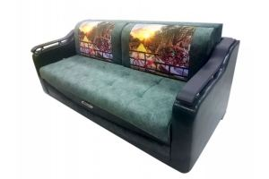 Прямой диван еврокнижка Гранд - Мебельная фабрика «ЭГИНА»