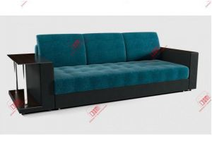 прямой диван еврокнижка Атлантик Бирюза - Мебельная фабрика «DiHall»