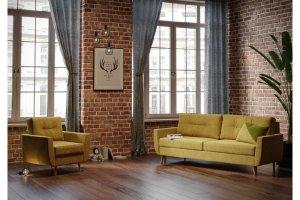 Прямой диван Харис - Мебельная фабрика «Woodcraft»