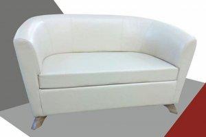 Прямой диван из экокожи - Мебельная фабрика «ПримФ»