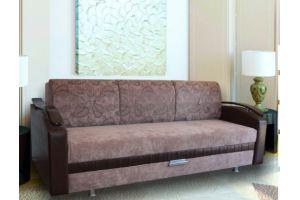 Прямой диван Лара с разными локтями - Мебельная фабрика «Викс»