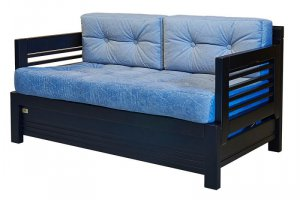 Прямой диван Леон 2 - Мебельная фабрика «WoodCraft»