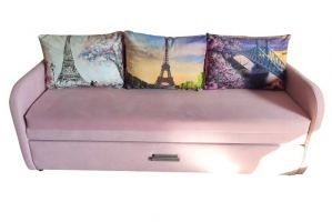 Прямой диван Леон - Мебельная фабрика «Барокко»
