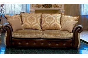 Прямой диван Леонардо - Мебельная фабрика «Лучший Стиль»