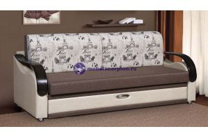 Прямой диван Лидер 2 - Мебельная фабрика «Скорпион»