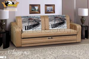 Прямой диван Лидер эко - Мебельная фабрика «Панда», г. Кузнецк