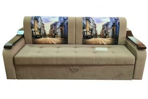 Прямой диван Лидер на металлокаркасе - Мебельная фабрика «Престиж-Л»