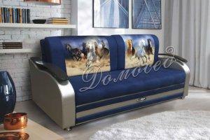 Прямой диван Лира 3 - Мебельная фабрика «Домосед»