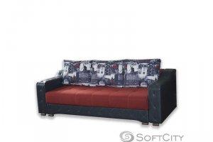 Прямой диван Мадрид - Мебельная фабрика «Софт Сити»