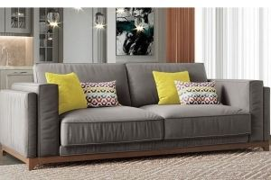 Прямой диван Манхэттен - Мебельная фабрика «Элфис»