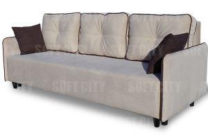 Прямой диван Милан 2 - Мебельная фабрика «Soft city»