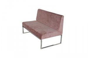 Прямой диван на металлокаркасе  AKN-5002 - Мебельная фабрика «Металл Плекс»