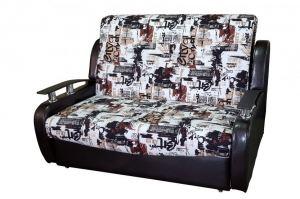 Прямой диван Парадиз 2 с декором - Мебельная фабрика «ПанДиван»