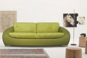 Прямой диван Премиум 3-ка - Мебельная фабрика «Люкс Холл»