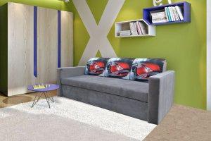 Прямой диван с механизмом дельфин Мадрид 1900 - Мебельная фабрика «Ульяна»