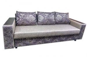 Прямой диван с подлокотниками - Мебельная фабрика «Самур»