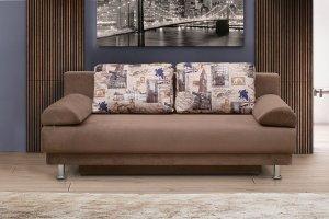 Прямой диван с подушками - Мебельная фабрика «Актив М»