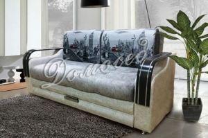 Прямой диван тик-так Лидер 19 - Мебельная фабрика «Evian мебель»