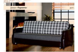 Прямой диван Торонто - Мебельная фабрика «ФСМ Дарди», г. Ижевск