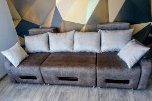 Прямой диван трансформер - Мебельная фабрика «Самур»